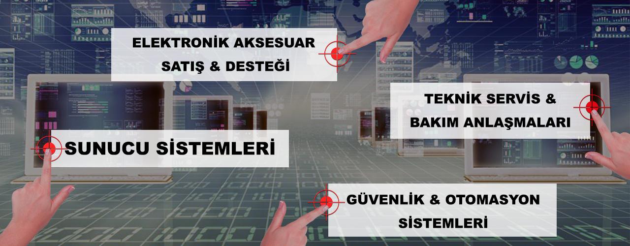 Karadeniz Bilişim, Elektronik Aksesuar Satış ve Desteği, Teknik Servis & Bakım Anlaşmaları, Sunucu Sistemleri, Güvenlik & Otomasyon Sistemleri